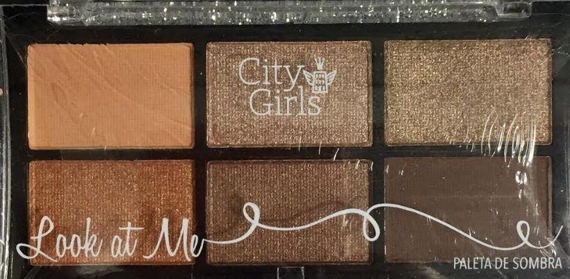 Paleta de Sombra Look At Me - City Girl cor 03