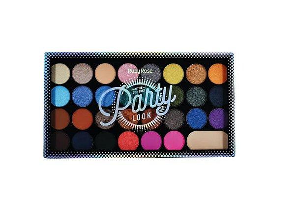 Paleta de Sombras Party Look - Ruby Rose Hb1044