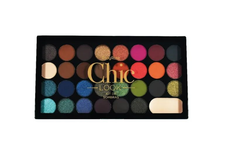 Paleta de Sombras Chic Look - Ruby Rose Hb1041
