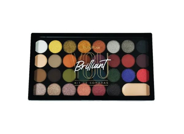 Paleta de Sombras You Brilliant - Ruby Rose Hb1043