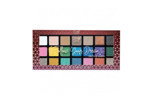 Paleta de Sombras Follow Your Dream A -City Girl