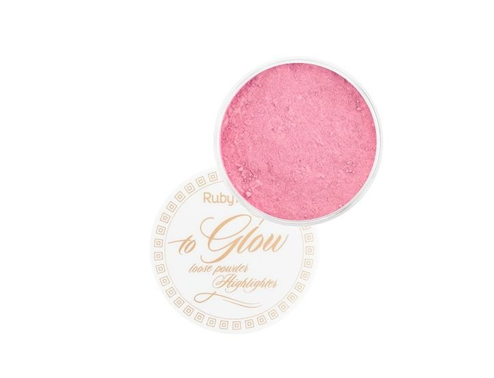 Pó Iluminador To Glow Ruby Rose -Cor 2 HB 7227