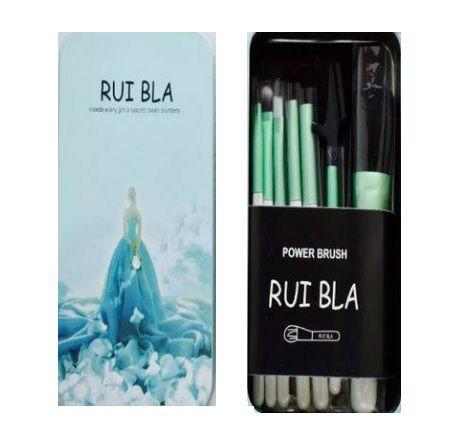Kit com 7 Pincéis Lata Azul - Rui Bla