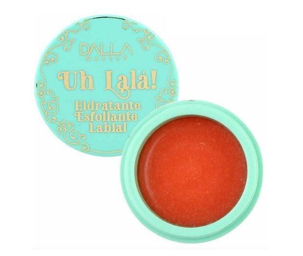 Uh Lalá Hidratante Esfoliante Labial  Verde - Dalla Makeup