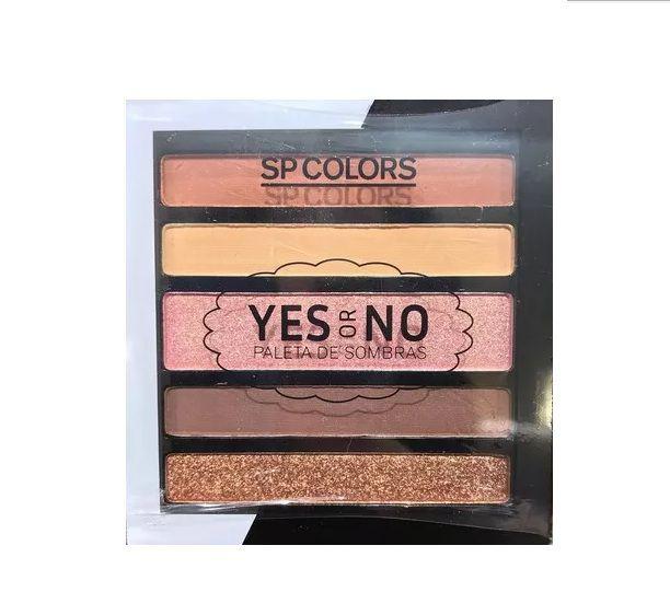 Paleta de Sombras 5 Cores Yes or No- SPColors Cor A