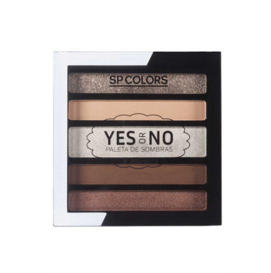 Paleta de Sombras 5 Cores Yes or No - SPColors Cor B