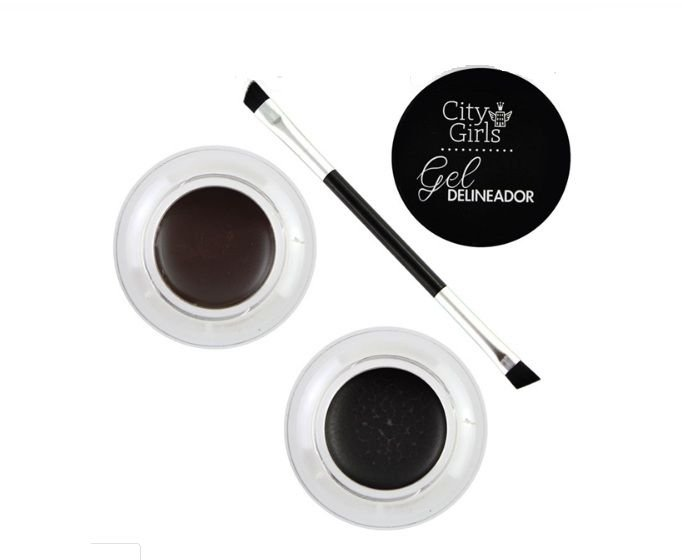 Kit Gel Delineador 2 Cores City Girls