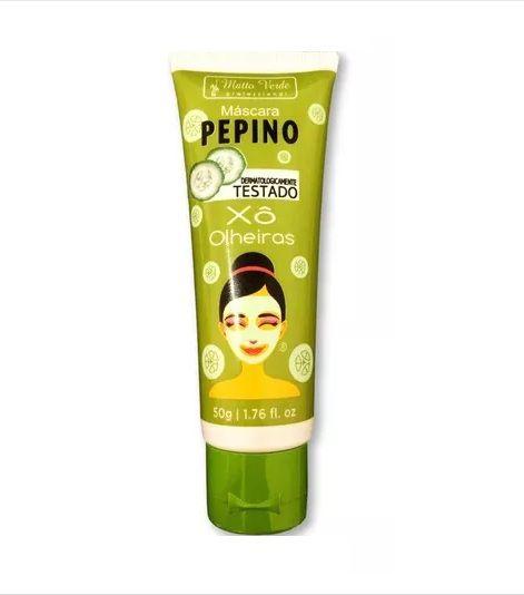 Máscara de Pepino Xô Olheiras- Matto Verde