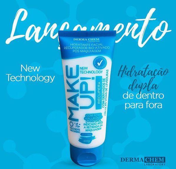 Make Up Hidratante Facial Pós Maquiagem - Dermachem