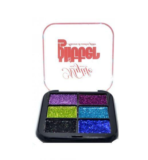 Paleta de Sombras Glitter- My life 1