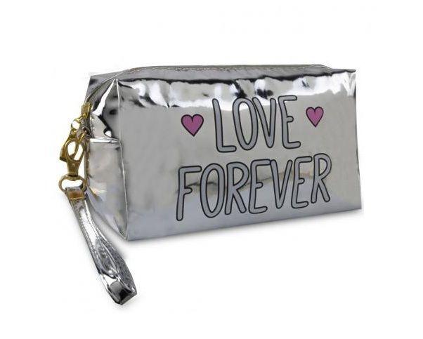 Necessaire  Forever Love Prata