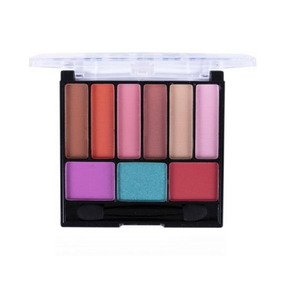 Paleta de Sombras Nine Glow Colors - Dapop A
