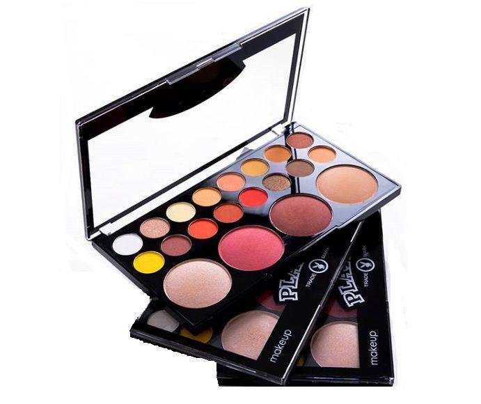 Paleta de Sombras Blush e Iluminador- Playboy HB96648PB
