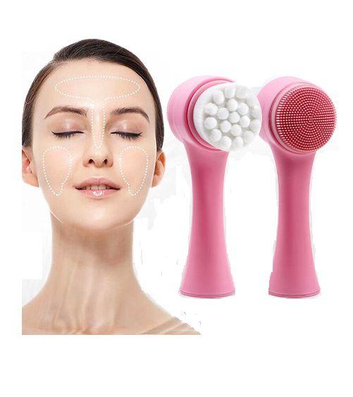 Massageador e Escova de Limpeza Facial Mandala