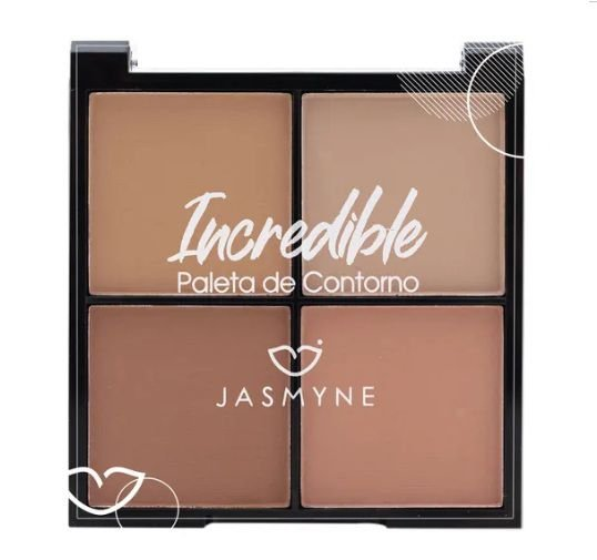 Paleta de Contorno Incredible - Jasmyne cor A