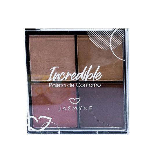 Paleta de Contorno Incredible - Jasmyne cor B