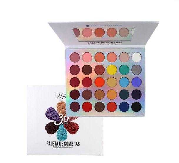 Paleta de Sombras 30 cores- My Life