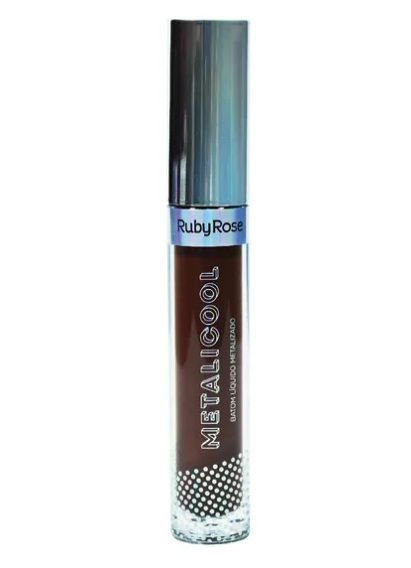 Batom Líquido Metalicool -Ruby Rose HB 8219-296