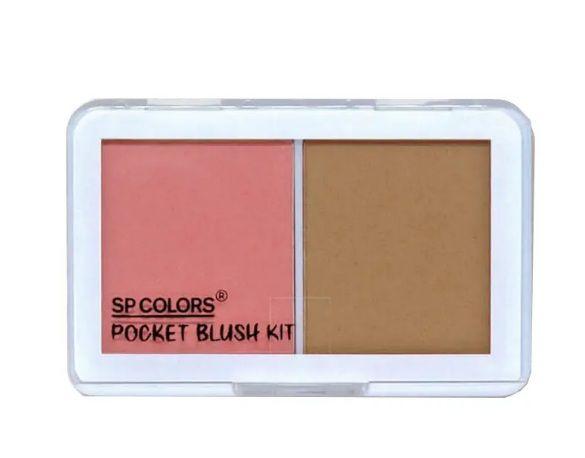 Duo Pocket Blush Kit-SPColors - Cor B