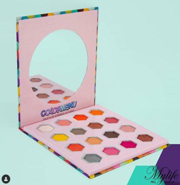 Paleta de 16 Sombras Color Menu- My Life