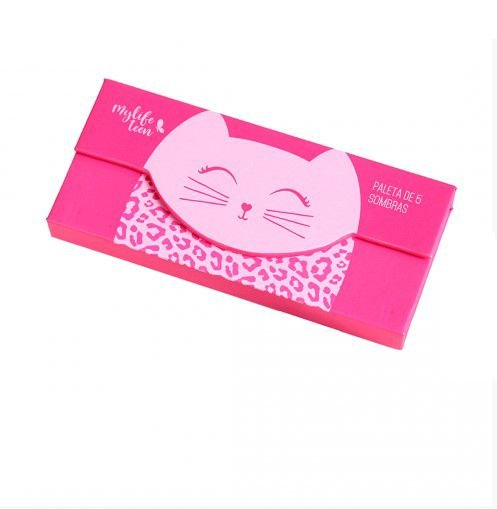 Paleta Cat 5 Sombras 1 Blush My Life -Cor 02