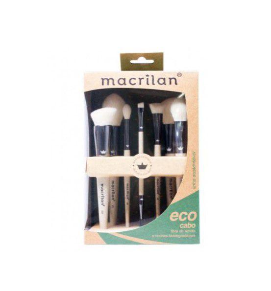 Kit de Pincéis Eco- Macrilan HB