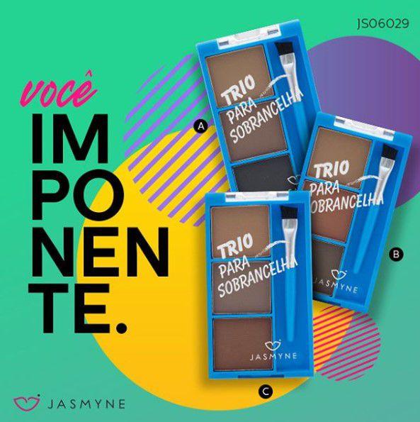 Trio para Sobrancelha Jasmyne - Cor B