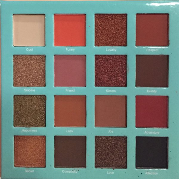 Paleta de Sombras Q Preguiça 16 cores - Jasmyne