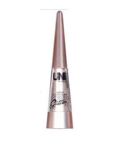 Delineador Diamond Glitter Eyerliner -Uni Makeup cor 01