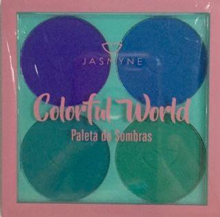 Paleta de sombras Colorful Word - Jasmyne Cor B
