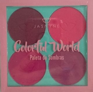 Paleta de sombras Colorful Word - Jasmyne Cor C