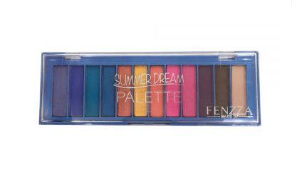 Paleta de Sombras Summer Dream - Fenzza cor Azul