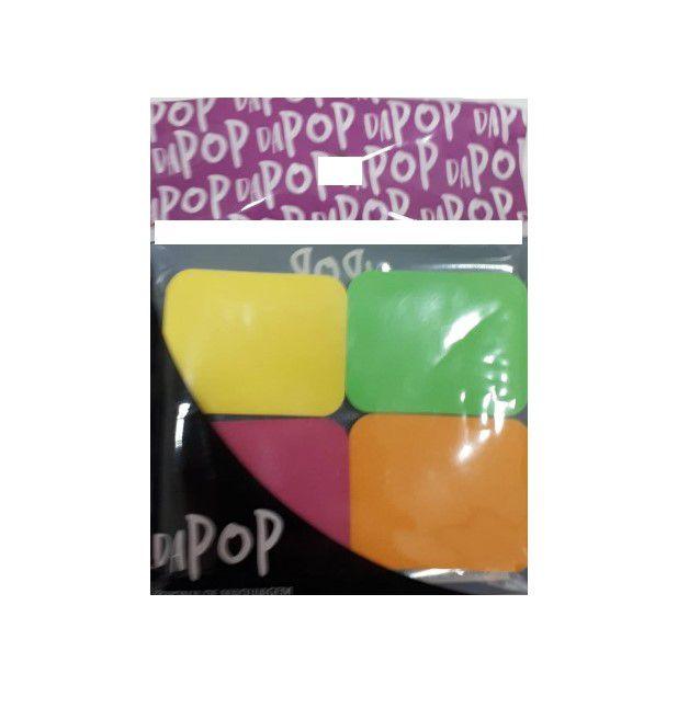 Esponja para maquiagem com 4 Colors - Dapop