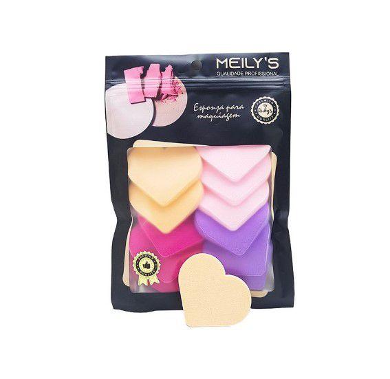 Esponja para maquiagem Corações-Meily's