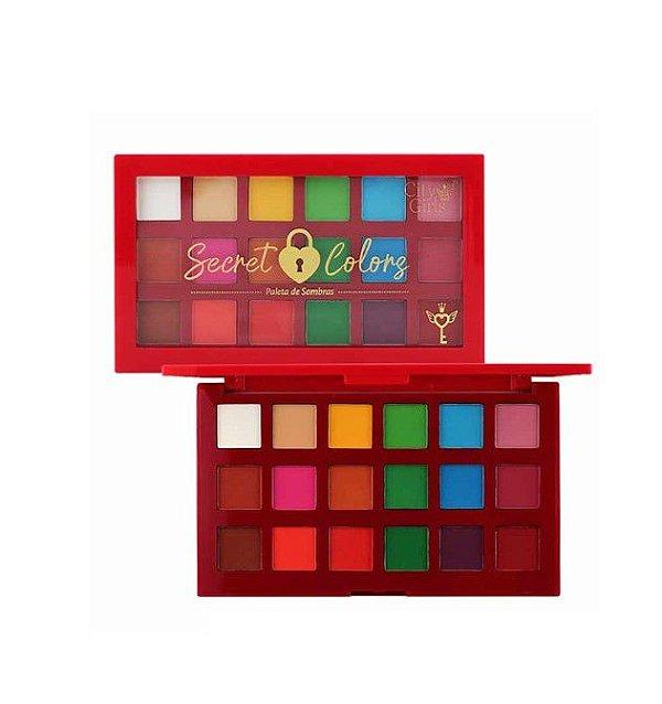 Paleta de Sombras Secret Colors - City Girls