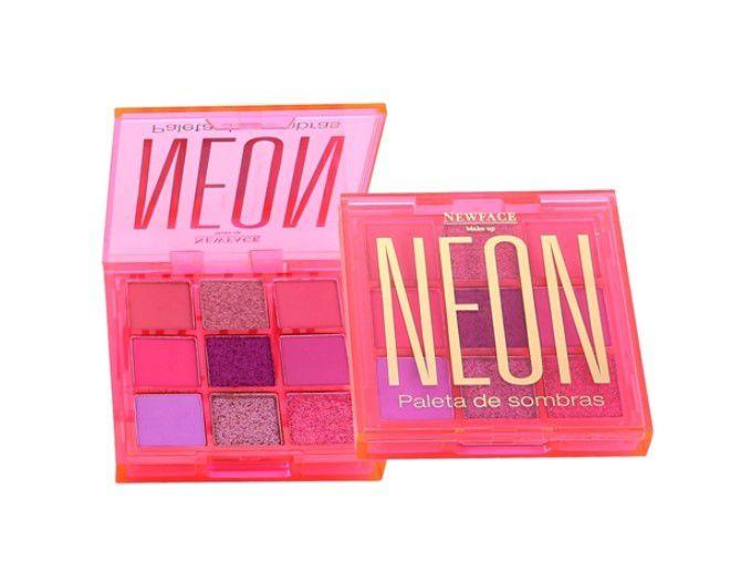 Paleta de Sombras Neon - Newface Rosa