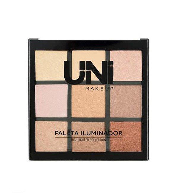 Paleta de Iluminador Highlighter Collection - Uni Makeup