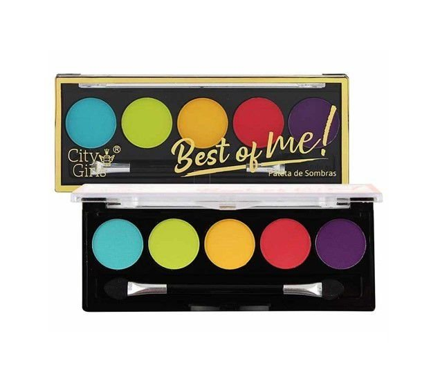 Paleta de Sombras Best of Me - City Girls Cor  A