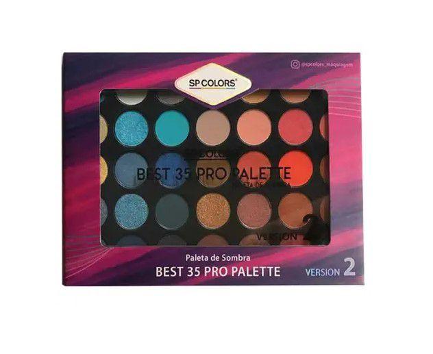 Paleta de Sombra Best 35 Pro Palette 2- Spcolors