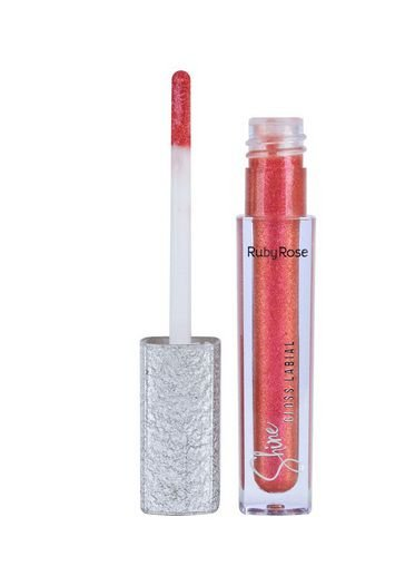 Gloss Labial Shine - Ruby Rose HB 8224 Cor 73