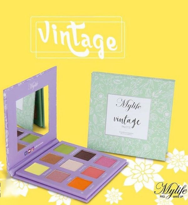 Paleta Vintage My Life Cor 02