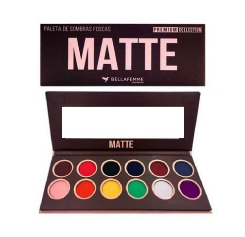Paleta de Sombras Matte - Bella Femme