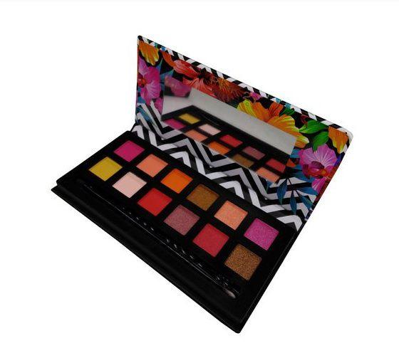 Paleta de Sombras Tropical - Pink 1 Cor 01