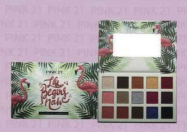 Paleta Life Begins Now - Pink 21