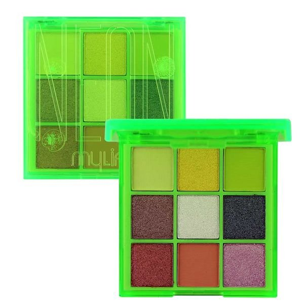 Paleta de Sombras Neon Verde - My Life