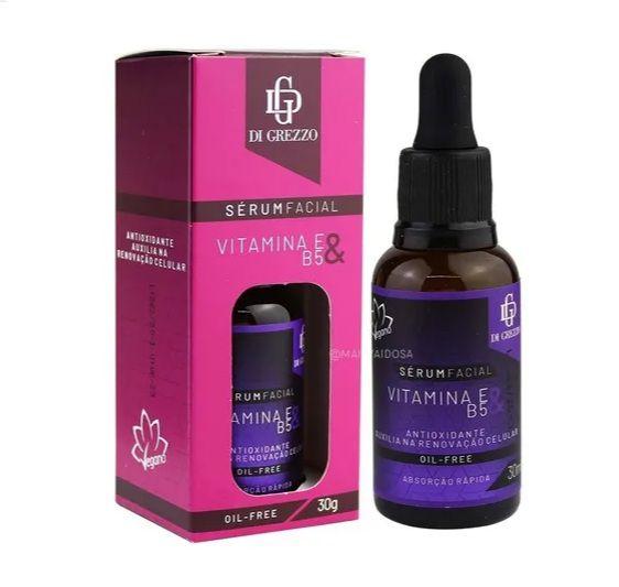 Sérum Facial Vitamina E & B5- Di Grezzo