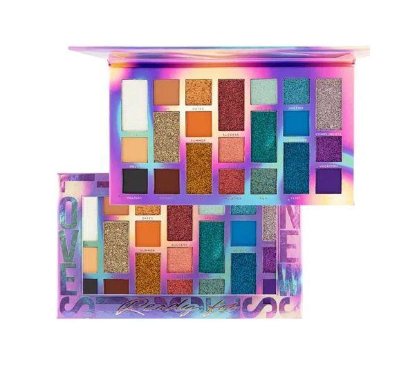 Paleta de Sombra Glitter Ready For- Ruby Rose Hb1059