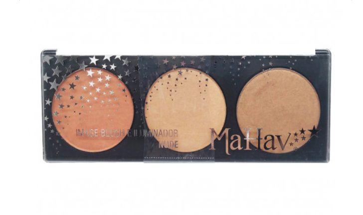 Paleta Image Blush e Iluminador -Mahav