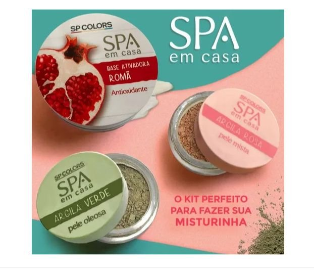 Kit Spa em casa - Sp Colors