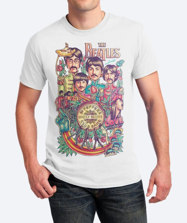 Camiseta All We Need Is Beatles